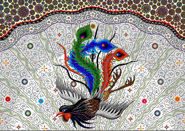 Kuşların Hükümdarı Simurg Efsanesi