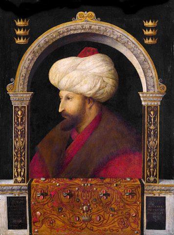 Gentile Bellini Fatih Sultan Han'ın Resmini Çizen Ressam