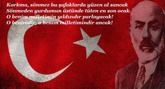 Mehmet Akifi Anma Ve İstiklal Marşı'nın Kabulü