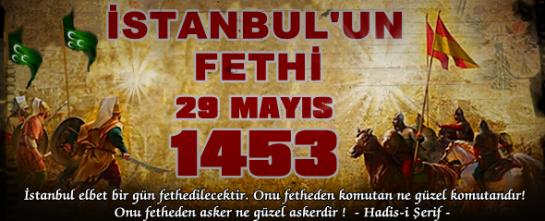 İstanbul'un Fethi Mübarek Olsun