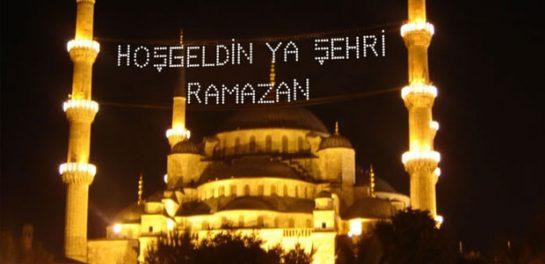 Türk İslam Alemi'nin Ramazanı Şerifleri Mübarek Olsun