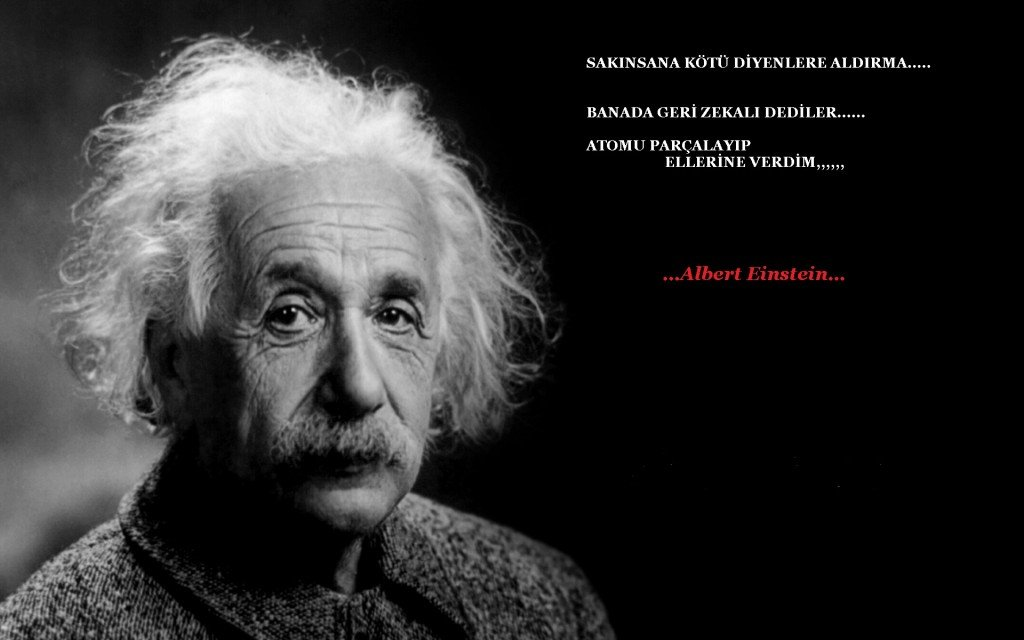 Albert Einstein'in On Öğüdü