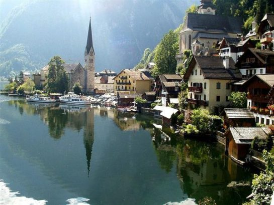 Avusturya'da Güzel Bir Köy Hallstatt (37 Fotoğraf)