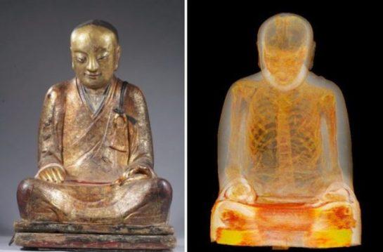 Buda Heykeli Aslında Bir Mumya