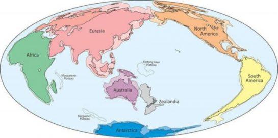 Pasifik Okyanusu'nda Gizli Bir Kıta Bulundu