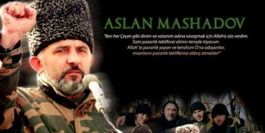 Büyük Komutan Aslan Mashadovu Unutmadık