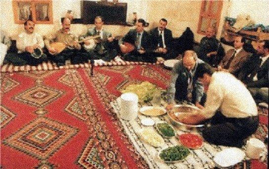 Yörelere Göre Sazlı, Sözlü ve Sohbetli Oda Toplantıları