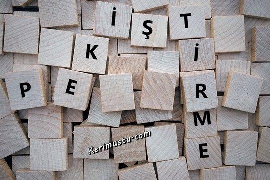 Pekiştirmeli Kelimeler Nasıl Yazılır? (39 Kelime)